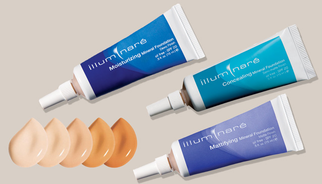 How to apply Illuminare Liquid Mineral Makeup