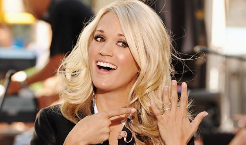 Carrie Underwood Used Too Faced Products On Her Wedding Day