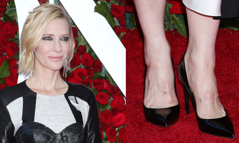 Blanchett And Paquin Don Same Dress, Different Makeup