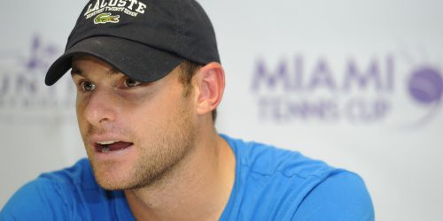 Andy Roddick Promotes Lacoste's Challenge Fragrance