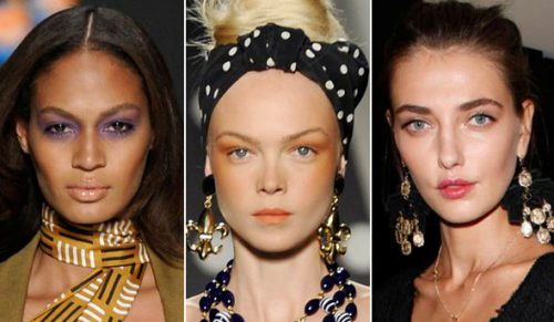 Milan Runways Filled With Beauty Trend You Can Wear Today