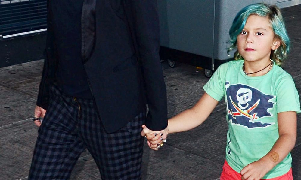 Four-Year-Old Kingston Rossdale Rocks Colorful Nail Polish