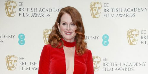 Julianne Moore Proves That Redheads Can Wear Red Lipstick