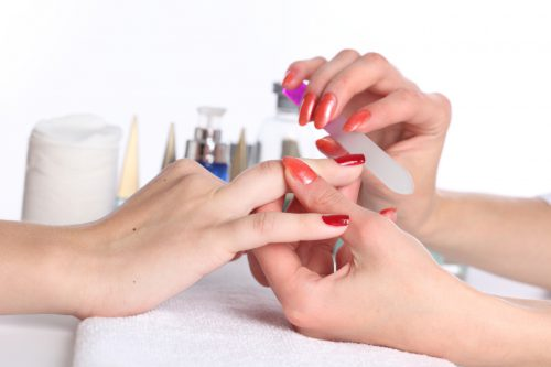 Give Yourself A Holiday-Themed Manicure!