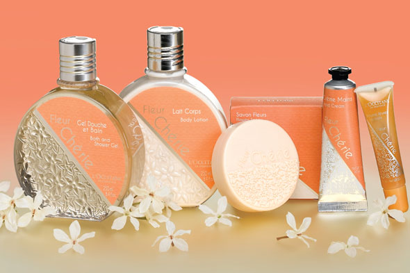 Give The Gift Of Orange Blossom With L'Occitane Fleur Cherie Collection Gift Set