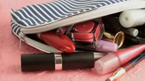 "Build a Purse Sized ""Emergency Makeup Kit""... and Save Your Skin!"