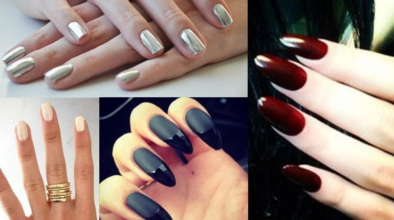 Five Hot Nail-Polish Colors To Try This Winter
