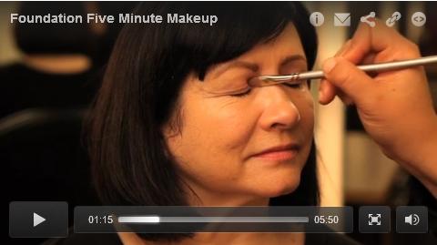 5 Minute Makeup Tutoral Video