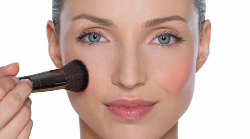 Makeup Shy? Go Ahead And Blush