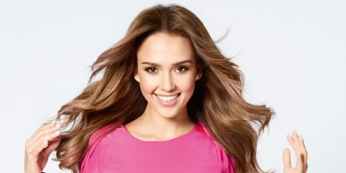 Jessica Alba Takes A Page Out Of Gramma's Beauty Book