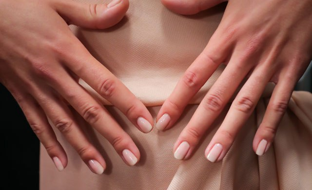 Milky, Creamy Nail Colors To Complement Natural Makeup