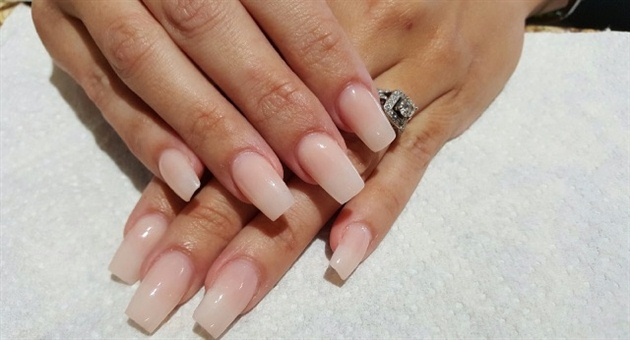 Nude Nails Are Office-Appropriate