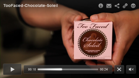 Too Faced - Chocolate Soleil excrp