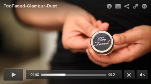 Too Faced - Glamour Dust excrp