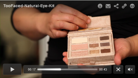Too Faced - Natural Eye Kit excrp