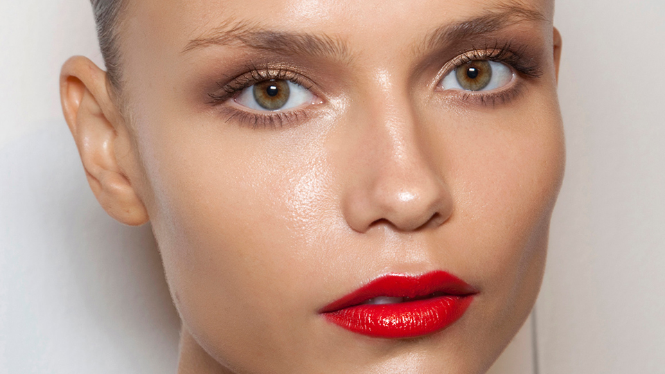 Don't Be Shy About Sparkle Near Your Brow Bone