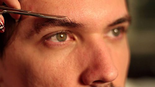 Some Guys Actually Care About Their Brows