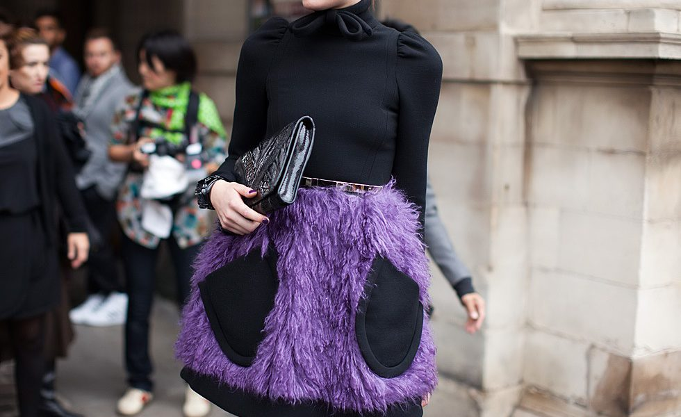 Make purple your go-to shade for the holidays
