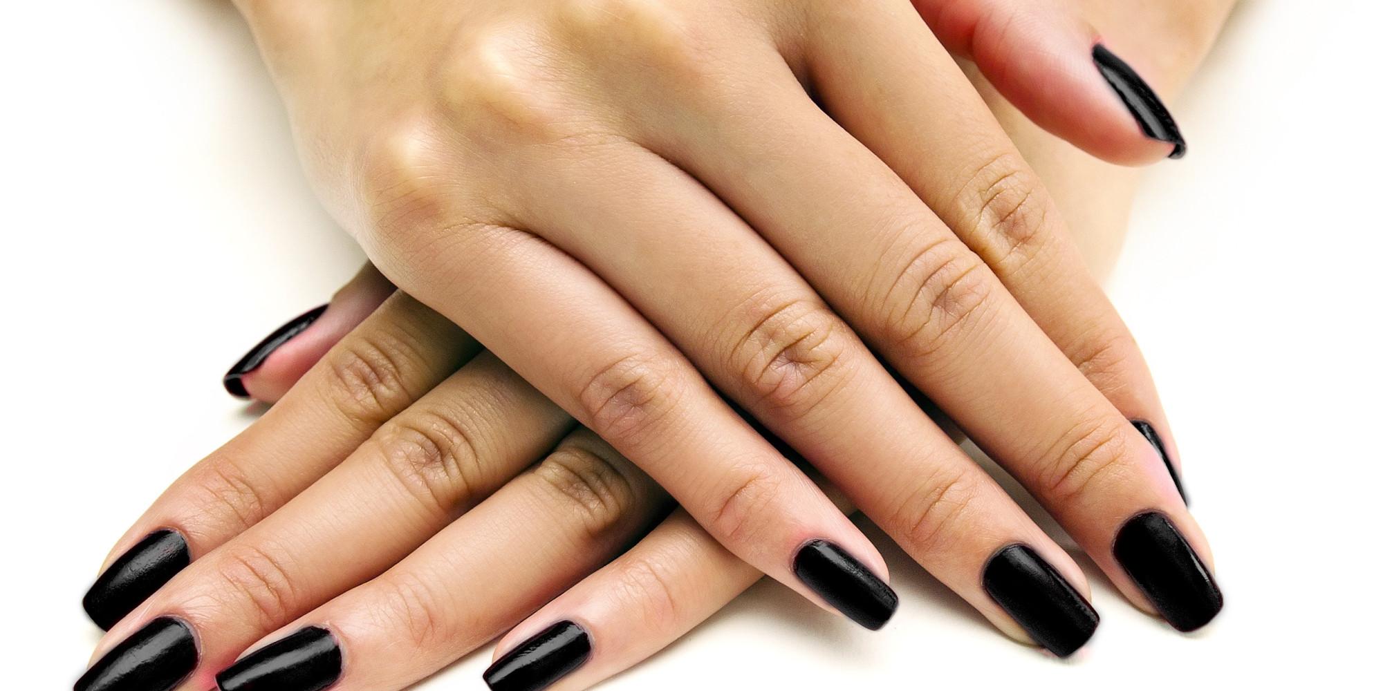 How To Handle The Downside Of Dark Nail Polish | the Beauty Bridge ...