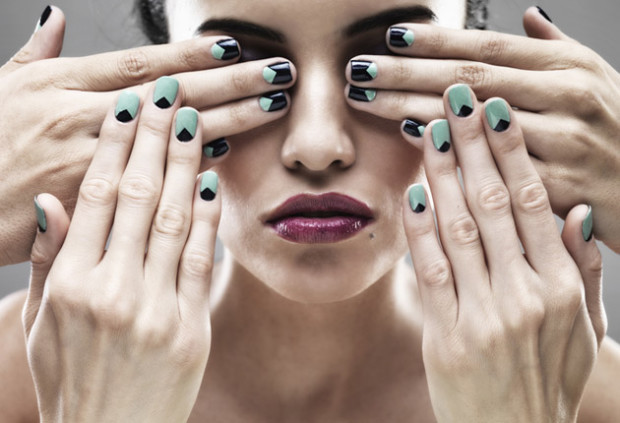 How To Create A Half Moon Manicure