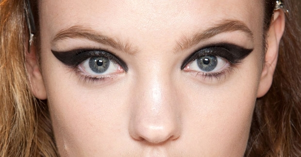 Ultra Exaggerated Cat Eyes Are In For Spring