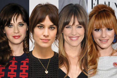 How To Pick The Best Bangs For Your Face