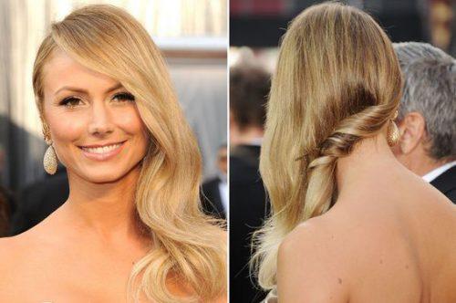 Side-Swept Hair: An Oscar Trend