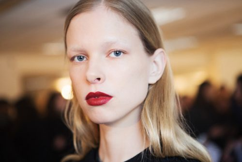 Red Lips Are Hotter Than Ever At New York Fashion Week