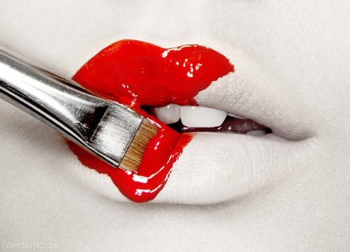 Why Red Lipstick Calls For Concealer