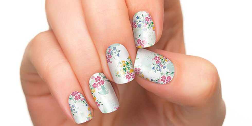 Nail Stickers You Can Make Yourself