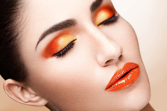 Orange: Unexpectedly Chic For Eyes, Cheeks And Lips
