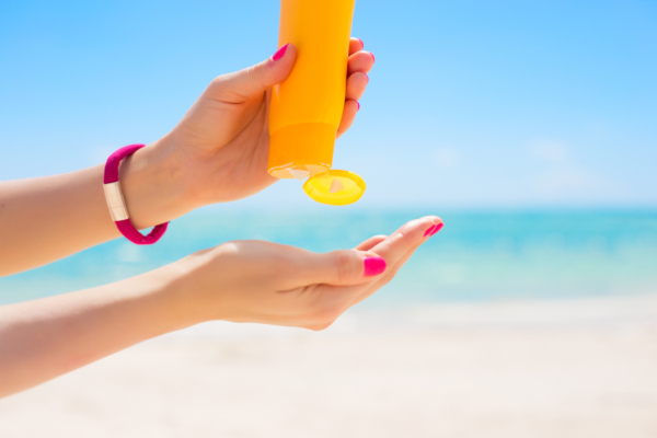 Two Places Where You Might Be Forgetting SPF