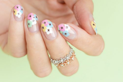 How To Nail A Floral Manicure This Summer