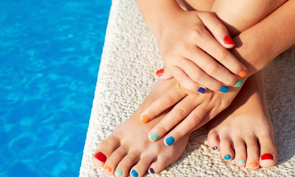 Do You Match Your Pedicure To Your Summer Footwear?