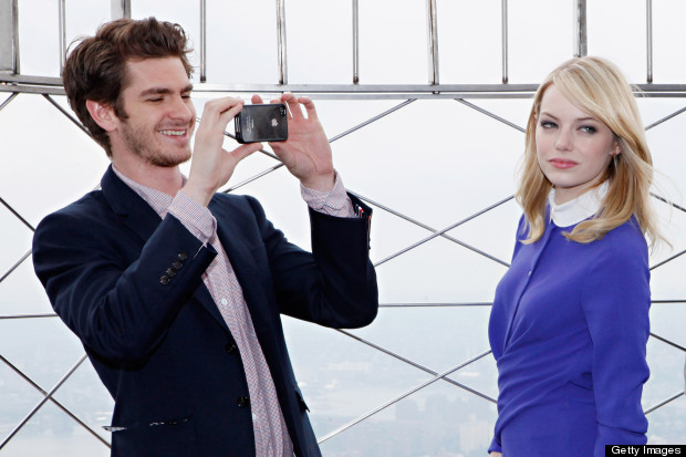 How To Recreate Emma Stone's Daytime Purple Eyeshadow From Her Spider-Man Tour