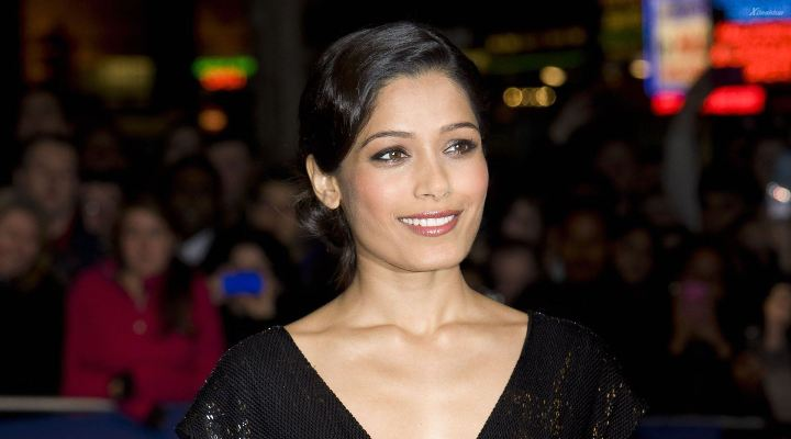 How To Copy Freida Pinto's Makeup From The Los Angeles Trishna Premiere