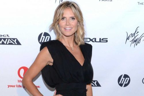 Copying Heidi Klum's Look From The Project Runway Life-Sized Interactive Runway Party