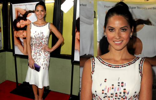 How To Steal Olivia Munn's Look From The Babymakers Screening
