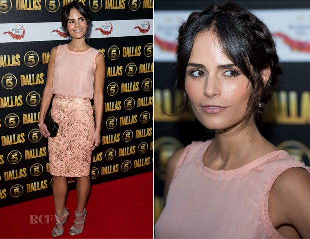 How To Get Jordana Brewster's Pink Look From The Chanel 5 Dallas Launch Party