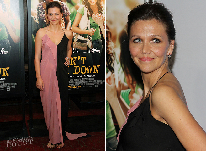 Want To Get Maggie Gyllenhaal's Look From The Won't Back Down Premiere?