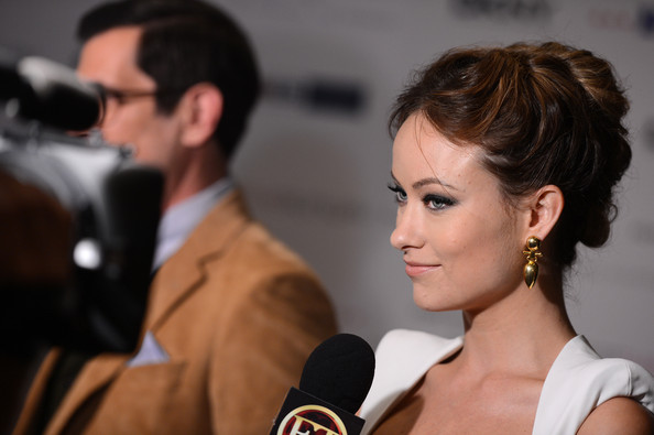 Olivia Wilde's Stacked Bun Hairstyle: Fall's Hottest Updo