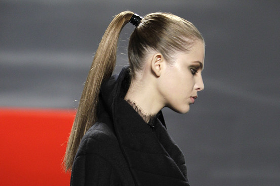 How To Get An Ultra-Sleek Ponytail