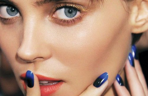How To Recreate The Pointed Half-Moon Manicures From The Tracy Reese Runway