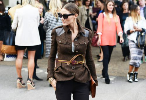 How To Recreate Olivia Palermo's Look From The Spring 2013 Burberry Runway Show