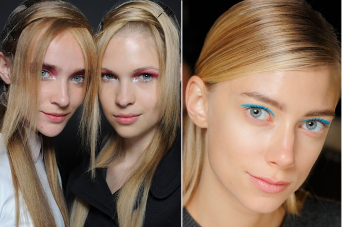 Want To Know The Next Big Shade Of Eye Makeup According To NYFW?