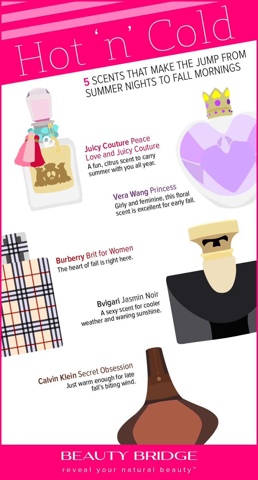 Popular Fall Fragrances