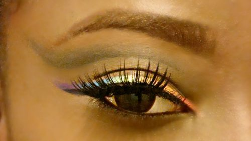 Have You Ever Considered Rainbow Eyeliner?