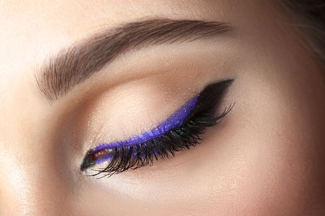 One Easy Way To Switch Up Your Colorful Eyeliner Routine