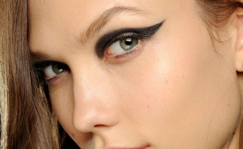 How To Pull Off Geometric Eyeliner