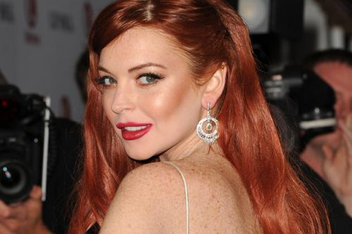 "How Did ""Liz And Dick"" Star Lindsay Lohan Stun On The Red Carpet?"